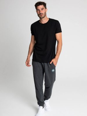 Camiseta algodón antimosquitos hombre negro 2