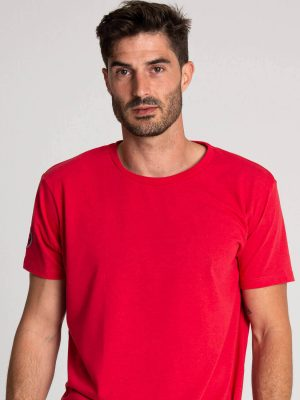 Camiseta algodón antimosquitos hombre rojo 1