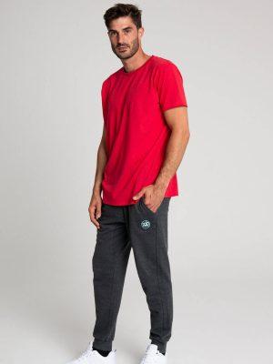 Camiseta algodón antimosquitos hombre rojo 2