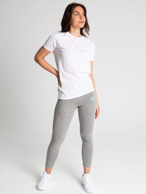 Camiseta algodón antimosquitos mujer blanco 2