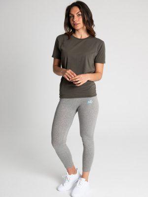 Camiseta antimosquitos algodón mujer caqui 2