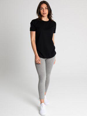 Camiseta algodón antimosquitos mujer negro 2