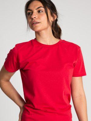Camiseta antimosquitos algodón mujer rojo 1