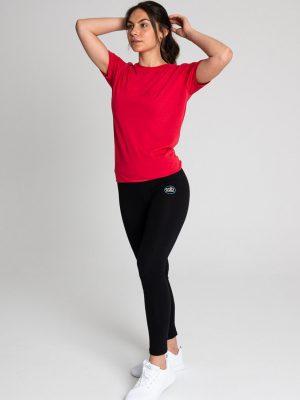 Camiseta antimosquitos algodón mujer rojo 2