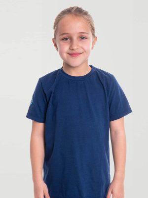 Camiseta antimosquitos niña azul 1