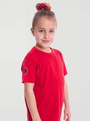 Camiseta antimosquitos niña rojo 1