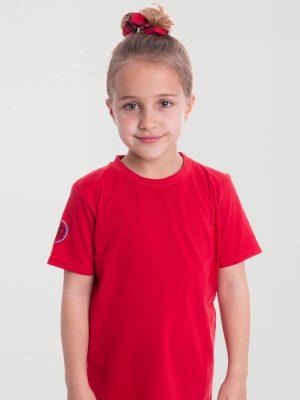 Camiseta antimosquitos niña rojo 2