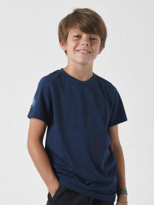 Camiseta antimosquitos niño azul 1