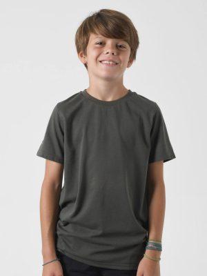Camiseta antimosquitos niño caqui 1