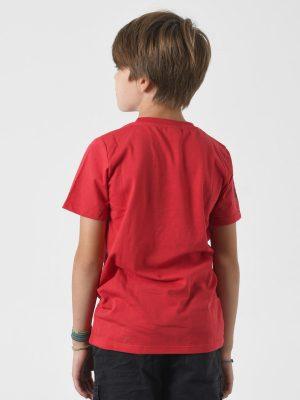 Camiseta antimosquitos niño roja 3