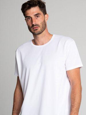 Camiseta antimosquitos técnica hombre blanca 1