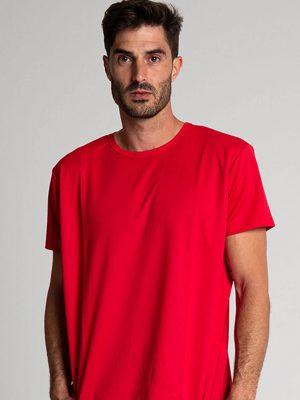 Camiseta técnica antimosquitos rojo 1