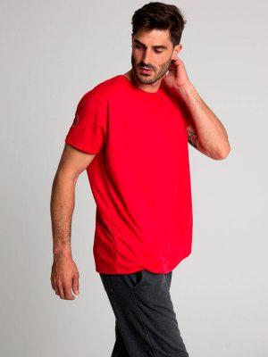 Camiseta técnica antimosquitos rojo 2
