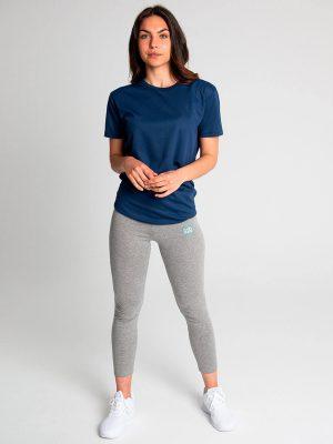 Camiseta técnica antimosquitos mujer azul 2