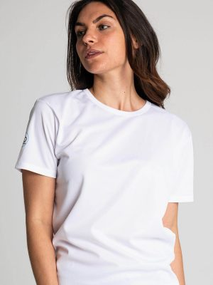 Camiseta antimosquitos técnica mujer blanca 1