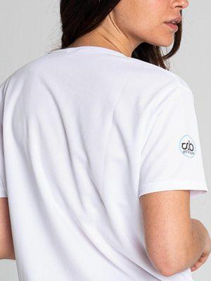 Camiseta antimosquitos técnica mujer blanca 5
