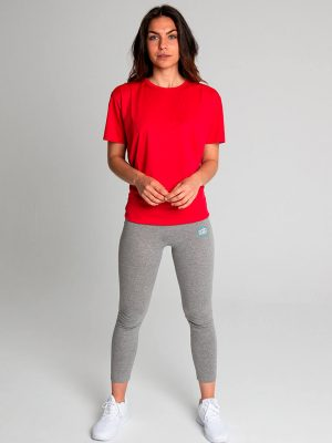 Camiseta técnica antimosquitos mujer rojo 2