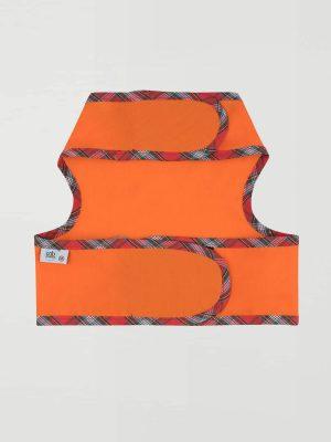 Chaleco antiparásitos naranja 2
