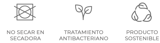 No secadora - Antibacteriano - Sostenible