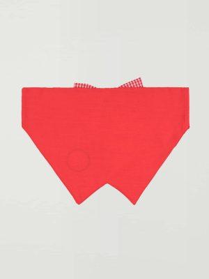 Pañuelo pajarita antiparasitario rojo 2
